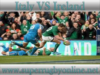 watch Ireland vs Italy stream