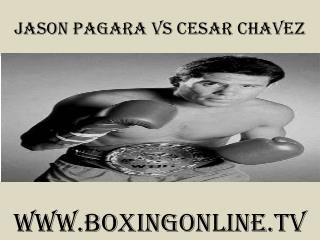 watch Jason Pagara vs Cesar Chavez 7 February 2015 live stre