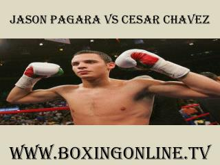 watch Jason Pagara vs Cesar Chavez tv coverage