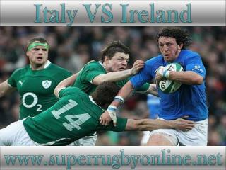 watch Ireland vs Italy online stream