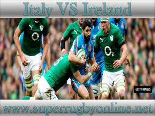 live Ireland vs Italy stream online