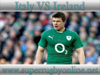 watch Ireland vs Italy online rugby match