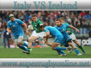 watch Ireland vs Italy online rugby 2015