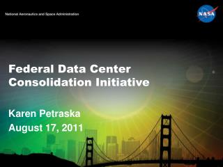 Federal Data Center Consolidation Initiative