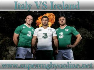 how to watch Ireland vs Italy online match on mac