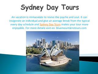 Blue Mountains Tours: Tour to Sydney filled with fun