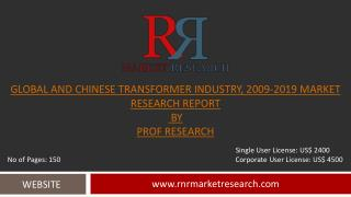 Transformer Industry Global & China Market Research to 2019