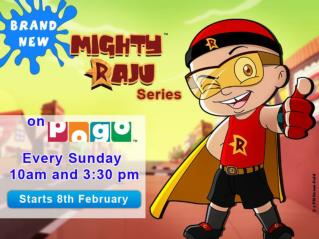 BRAND NEW MIGHTY RAJU SERIES ON POGO TV