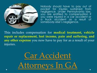 Injury Lawyers In Georgia