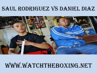 watch Saul Rodriguez vs Daniel Diaz 7 February 2015 live str
