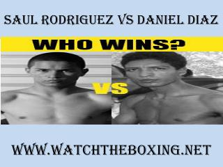 watch Saul Rodriguez vs Daniel Diaz online streaming
