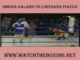 2015 Simona Galassi vs Loredana Piazza