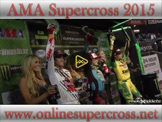 Live AMA Supercross at Petco Park race