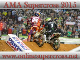 AMA Supercross Petco Park 7 feb 2015 live