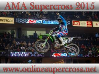 watch AMA Supercross at Petco Park live racing