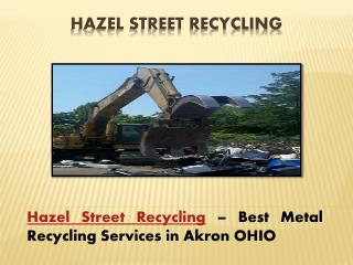 Why Non Ferrous Metal Recycling is boosting in OH