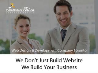 Professional Website Designers $ Web Developers in Toronto