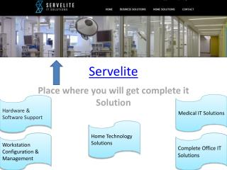 Complete IT Services Solutions Houston - Servelite