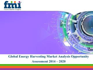 Global Energy Harvesting Market Analysis Opportunity Assessm