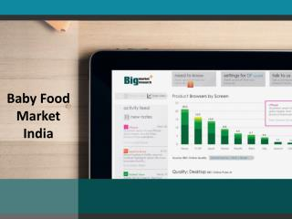 Baby Food Market India