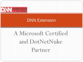 DNN Extension - All you need to Know