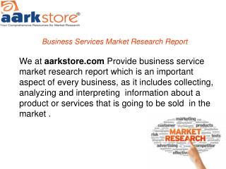 Business services market research