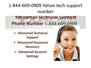 @1-844-609-0909(toll free) Yahoo tech support number
