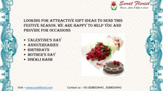 Online Flower Delivery in Surat