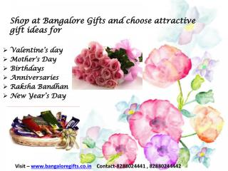 Send Valentine Gifts to Bangalore