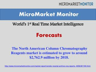 The North American Column Chromatography Reagents market is