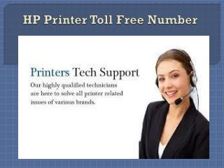 HP Printer Toll Free Number 1-800-832-1504