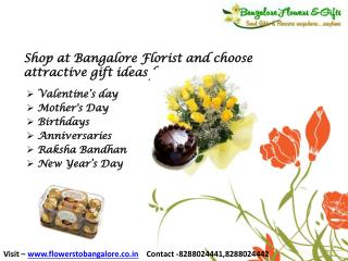 Flower and Cake Delivery Bangalore