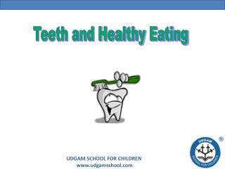 A presentation for young kids about teeth care