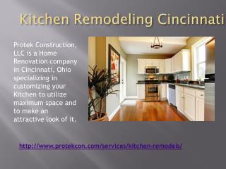 Kitchen Remodeling Company in Cincinnati ohio