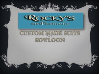 CUSTOM MADE SUITS KOWLOON