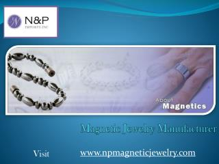Magnetic Jewelry Manufacturer