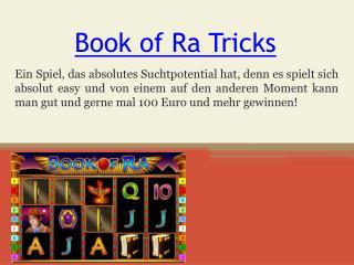Book of Ra Tricks