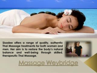Weybridge Massage Services