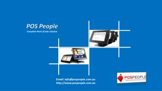 Retail Point of Sale software by POS PEOPLE