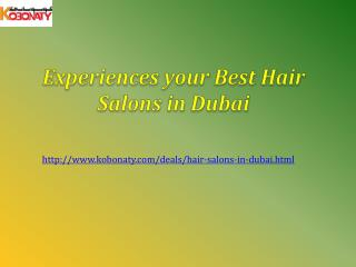 Hair Salons in Dubai