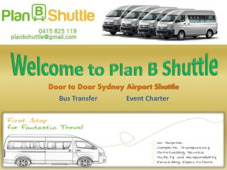 Sydney Airport Shuttle Bus