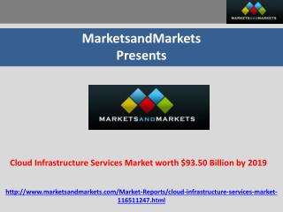 Cloud Infrastructure Services Market worth $93.50 Billion by
