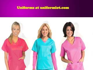 Uniforms at uniformlot.com