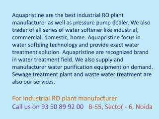 industrial ro plant manufacturer delhi,water softener,press