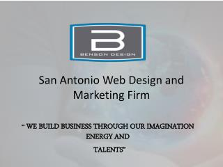 San Antonio Web Design and Marketing Firm
