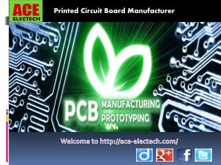ACE Electech is a reliable one-stop PCB solution Supplier in