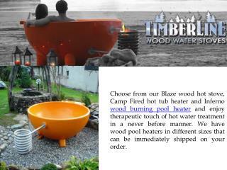 Wood Fired Swimming Pool Heaters