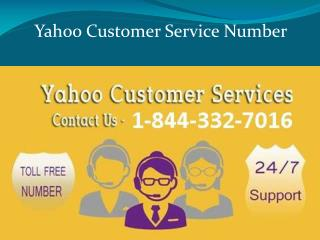 Yahoo Password Recovery & Recovery Contact Number 1-844-332-
