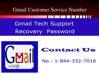 Gmail Technical Support 1-844-332-7016 USA for Email managem