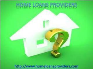 Know the process of Home Loan in USA